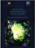 Opinión de los departamentos sobre política y territorio