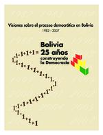 Bolivia - 25 años construyendo democracia