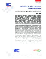 Protección de datos personales y derechos digitales