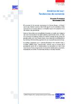 América del Sur: tendencias de comercio