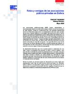 Retos y ventajas de las asociaciones público-privadas en Bolivia